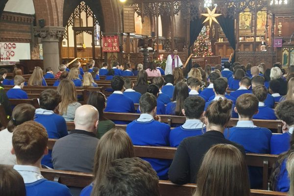 Y11 Christmas Service at St Andrews Parish Church